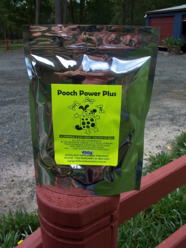 450g Pooch Power Plus